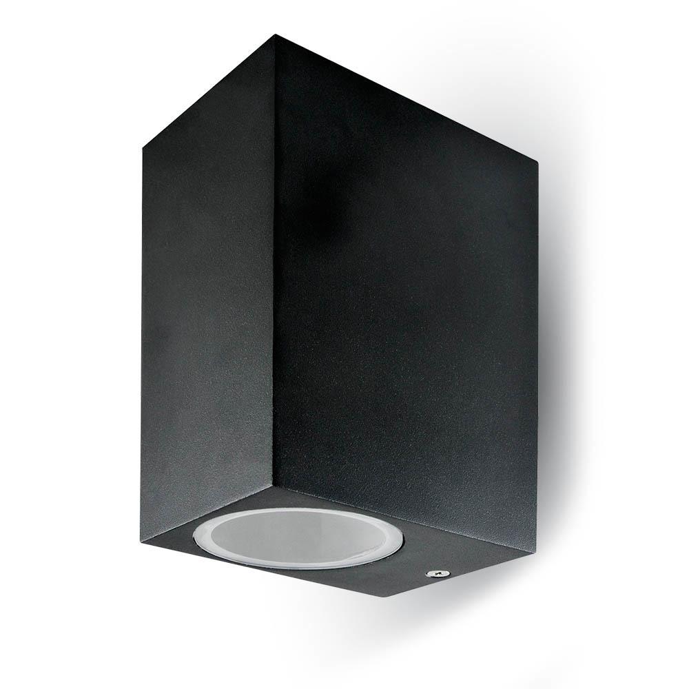 Externí nástěnné svítidlo GUFI IP44 GU10 černá GU10