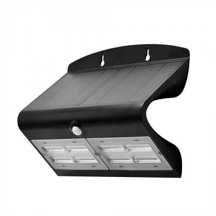 Solární LED nástěnná lampa SOLAIRE s dvojitým snímačem pohybu a soumraku