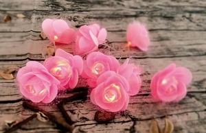 Romantické-dekorativní FLOWERS LED květiny small 2