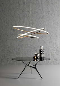Závěsná lampa Fabbian Olympic F45 45W 60,2cm 3000K - bílá - F45A0701 small 10