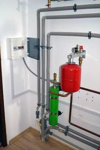 Indukční kotel 4,5 kw pro vytápění o výměře 90m²