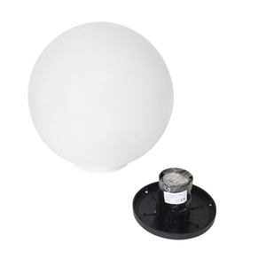 Dekorativní zahradní koule 25cm Luna Ball s montážní sadou small 3