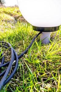Sada ozdobných kuliček - Luna Ball 20, 30, 40 cm s montážní sadou, 3m kabel, upevňovací sloupek small 2