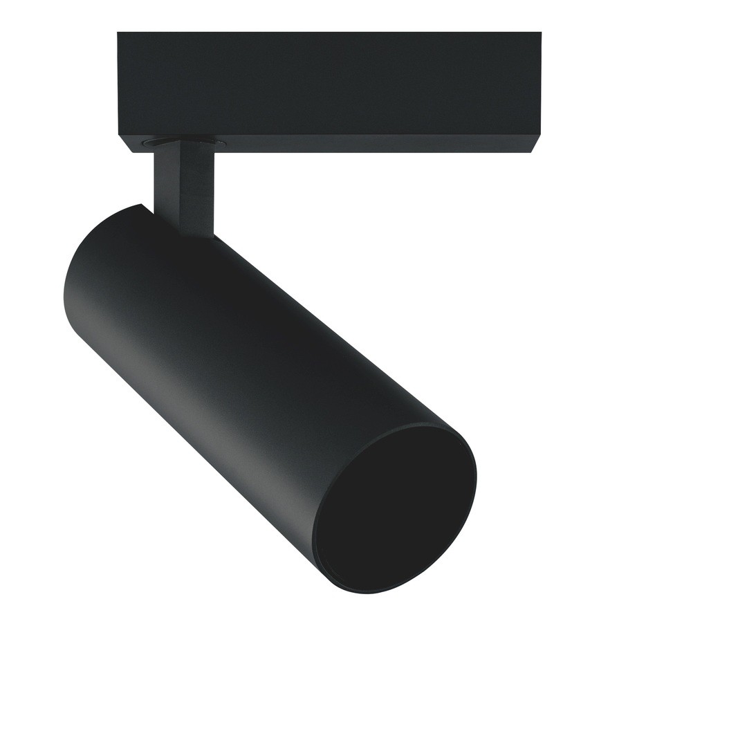 Aries reflektor S pro 1-F kolejnici černý