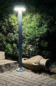 Zahradní sloupek Rondo LED 71cm, šedý small 3