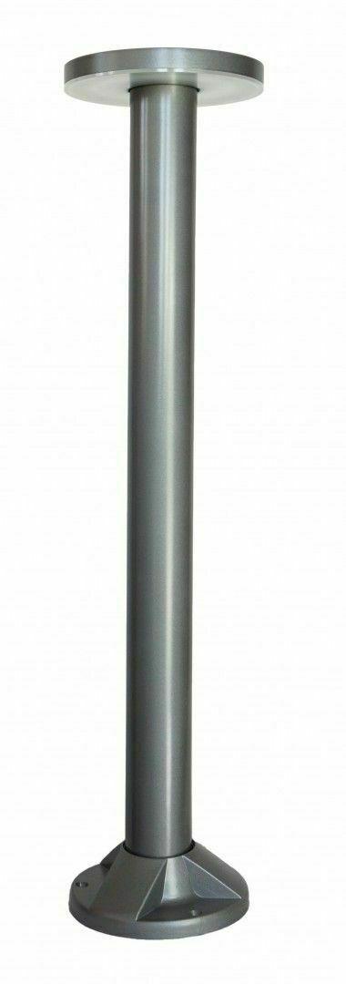 Zahradní sloupek Rondo LED 71cm, šedý