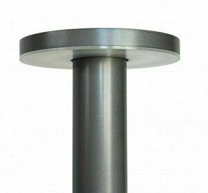 Zahradní sloupek Rondo LED 45cm, šedý small 1