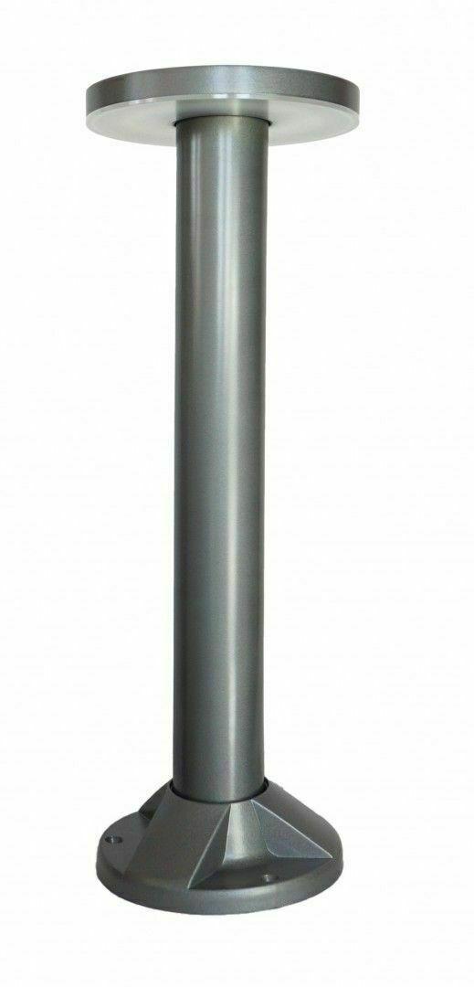Zahradní sloupek Rondo LED 45cm, šedý
