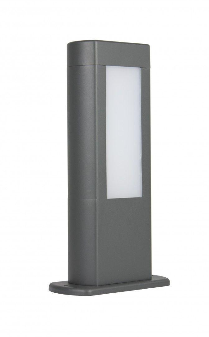 Venkovní stojací lampa EVO LED 30cm, tmavě šedá