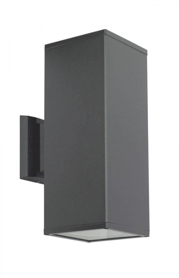 Venkovní nástěnná lampa ADELA 8001 DG, tmavě šedá