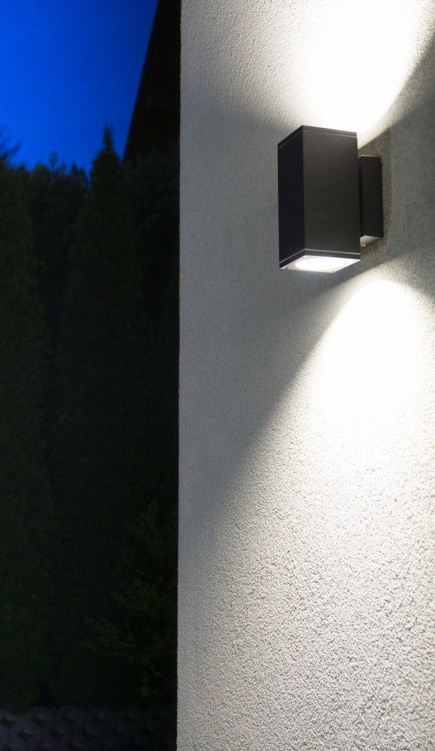Venkovní nástěnná lampa ADELA MIDI M1460 DG, tmavě šedá