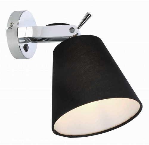 Nástěnná lampa Bali černá