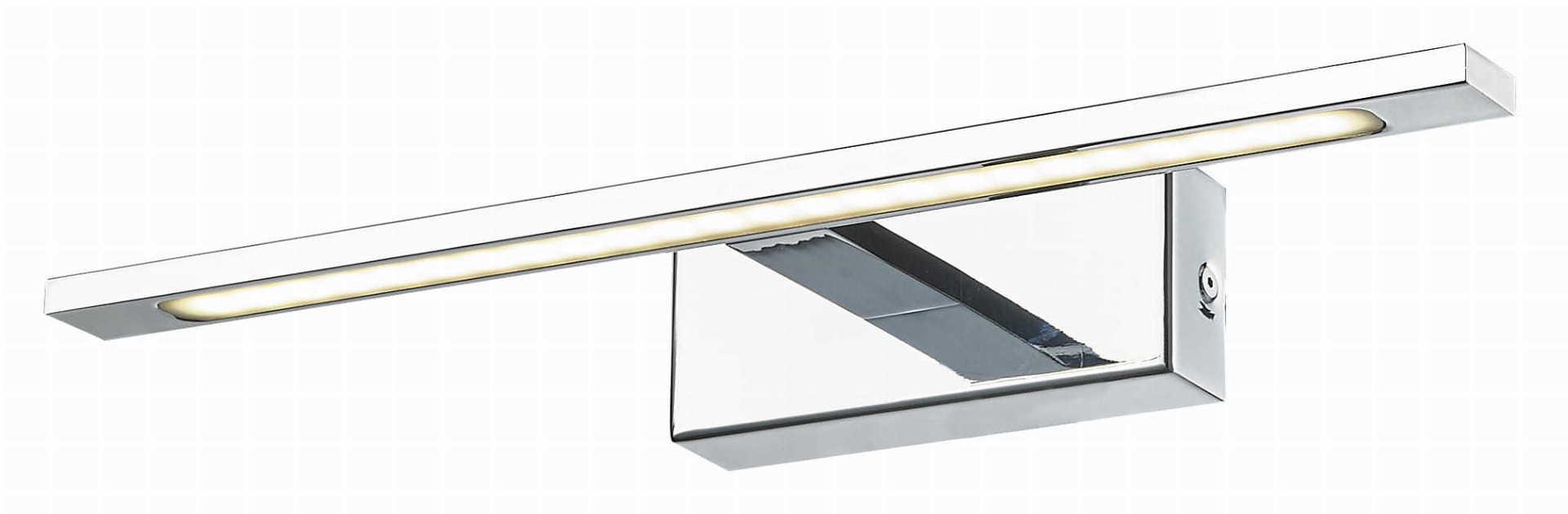 Zrcadlové nástěnné svítidlo Isla, chrom IP44
