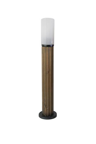 Osvětlovací sloupek Luna Torch 85 cm E27 bílá bílá stínítko