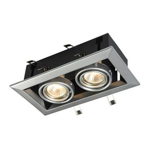 Zapuštěné stropní svítidlo Maytoni Metal Modern DL008-2-02-S small 2