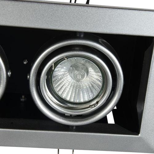 Zapuštěné stropní svítidlo Maytoni Metal Modern DL008-2-02-S