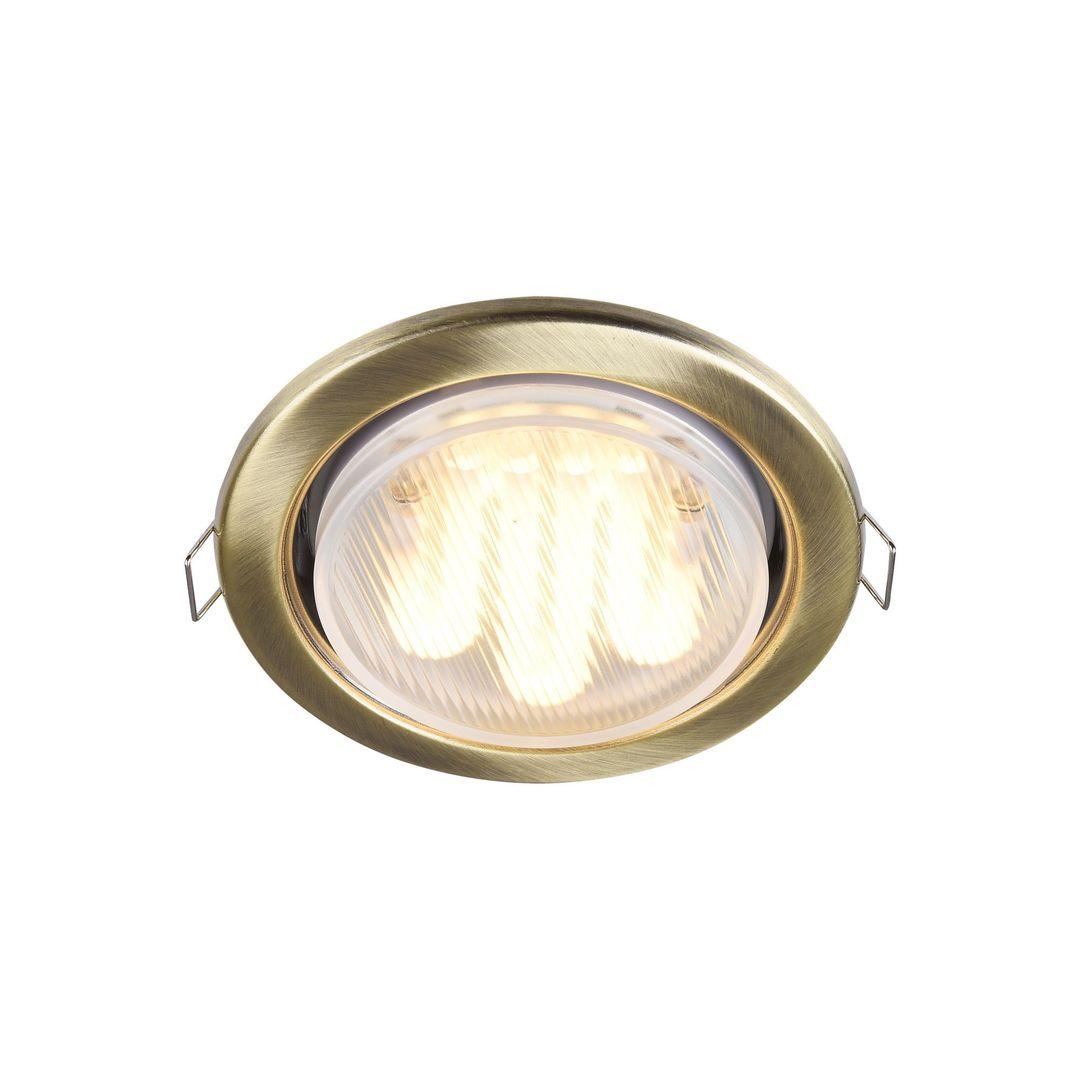 Zapuštěné stropní svítidlo Maytoni Metal Modern DL293-01-BZ