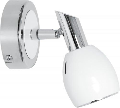 Bílá nástěnná lampa Barvy Chrome GU10 50W