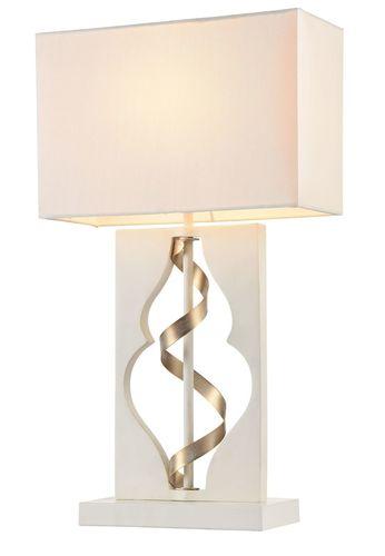Stolní lampa Maytoni Intreccio ARM010-11-W