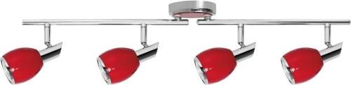 Spot Strip Red Color Chrome GU10