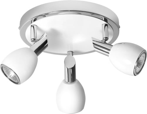 Strop Strop 3-bodová LED barva Bílá GU10