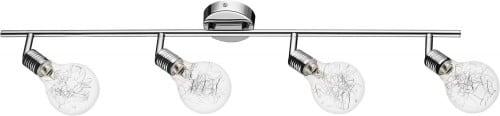 Plafon-Reflektorek 4-punktowy Bulbs Chromowany G9 28W