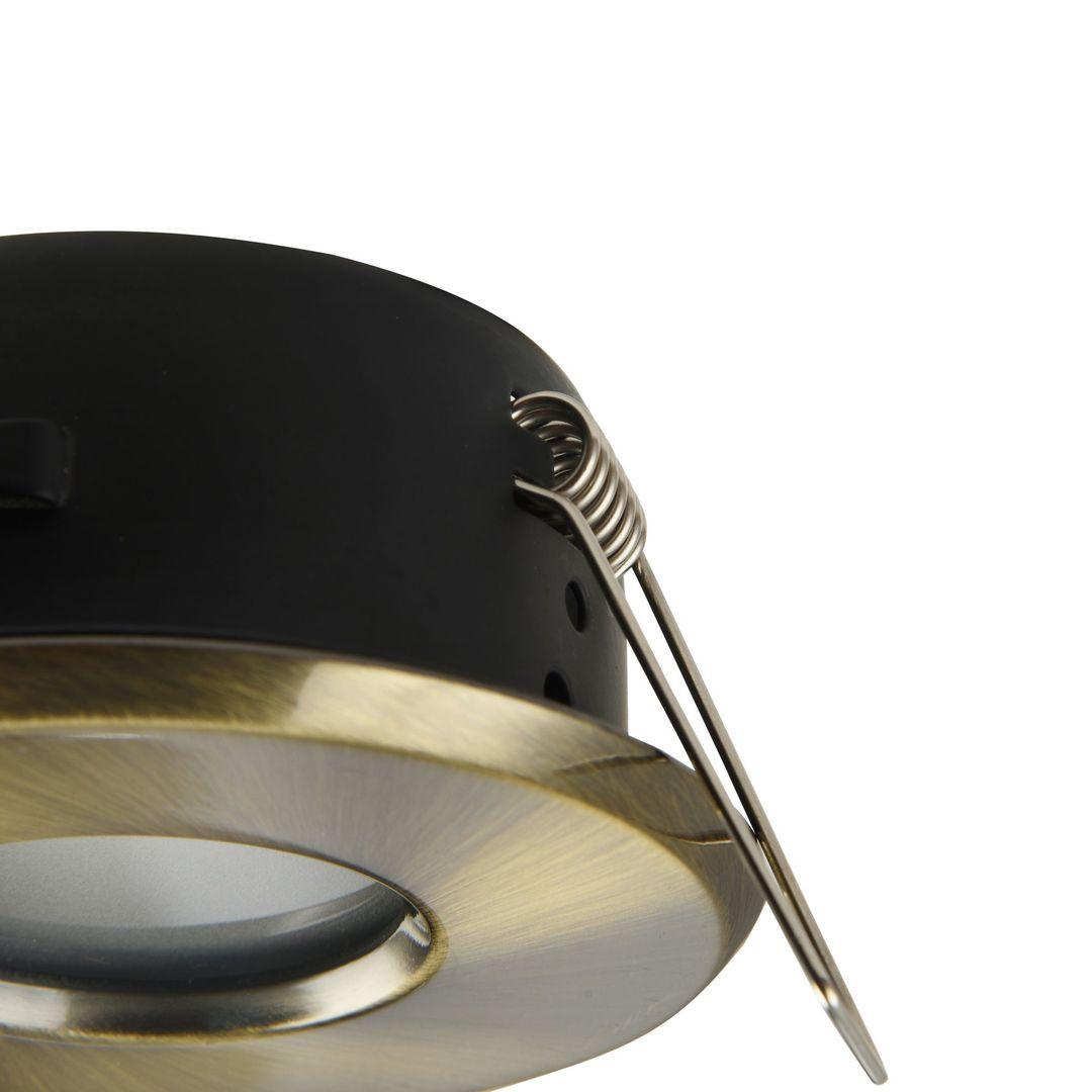 Zapuštěné stropní svítidlo Maytoni Metal Modern DL010-3-01-BZ