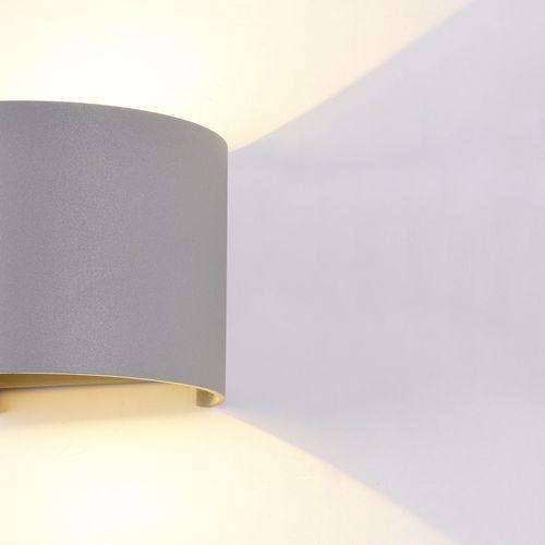 Venkovní nástěnná lampa Maytoni Fulton O573WL-L6GR
