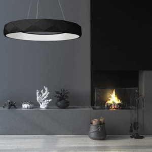 Reus LED závěsná černá small 1
