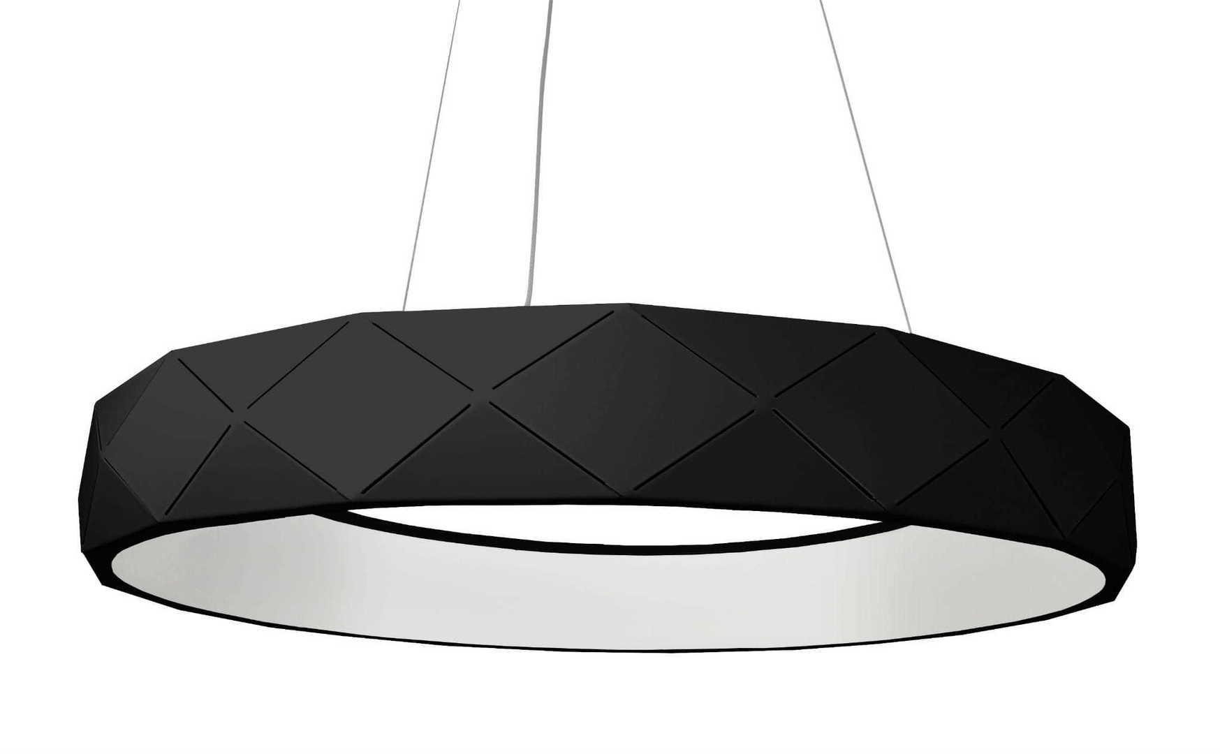 Reus LED závěsná černá