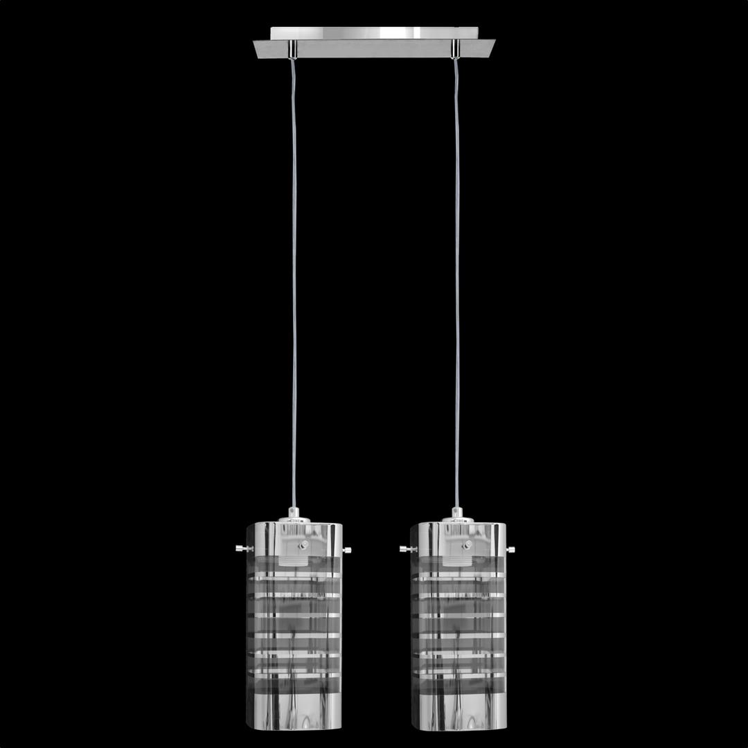 Závěsná lampa Eris 2 čtvercová lišta