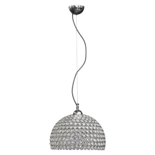 Závěsná lampa Prima 1 chrom 300