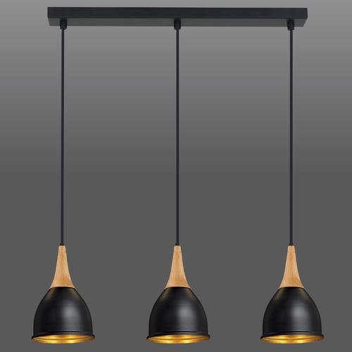 Závěsná lampa Black Aria 3