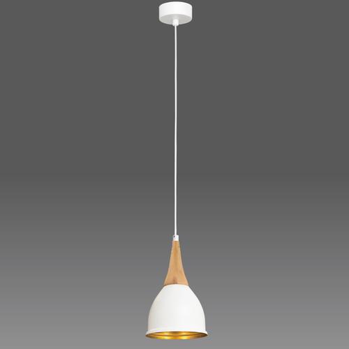 Závěsná lampa bílá Aria 1