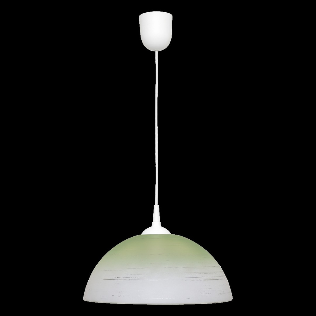 Zelená koule závěsná lampa