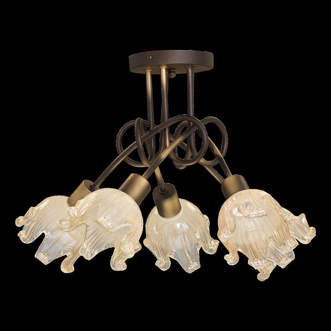 Stropní lampa Golden Venus 5