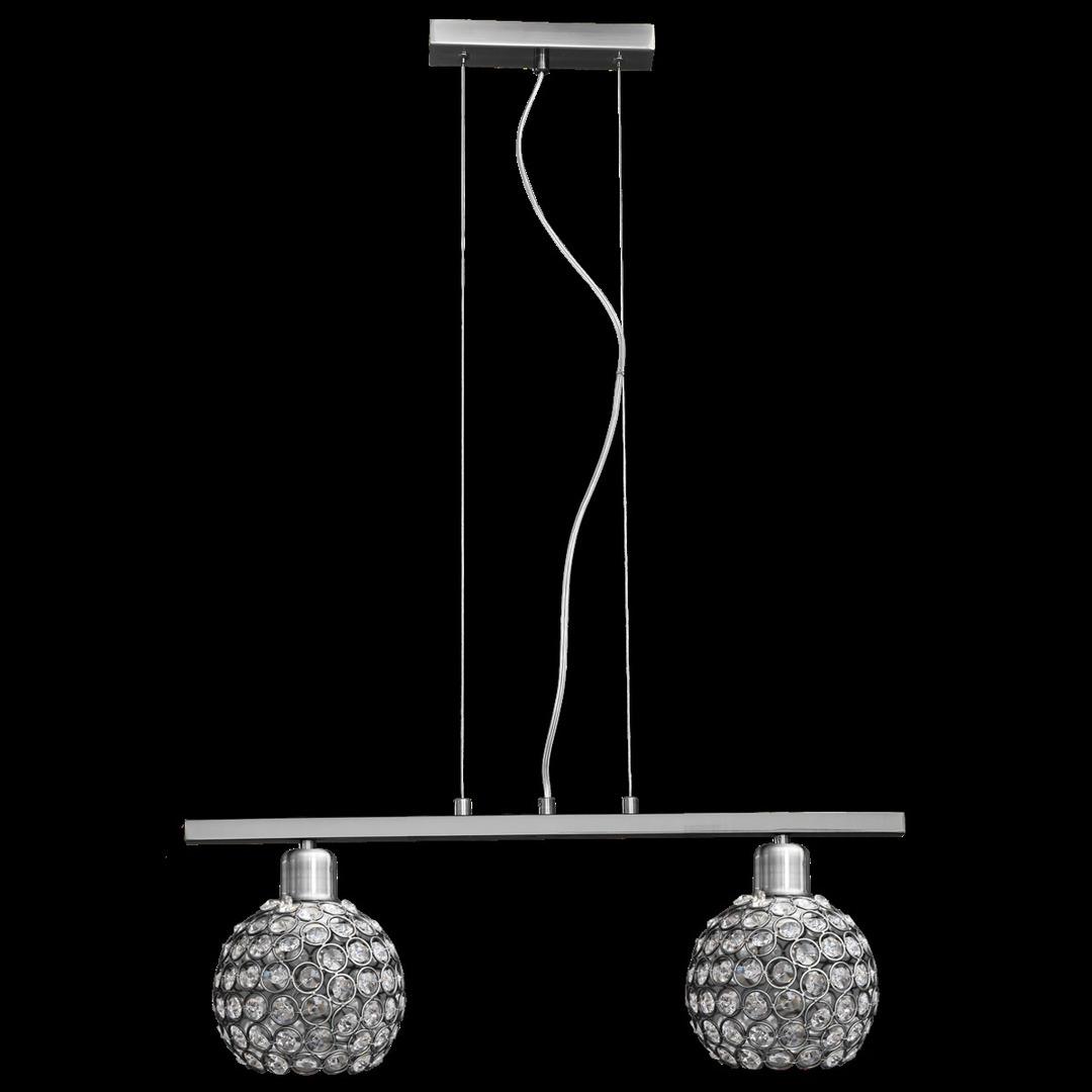 Závěsná lampa Prima 2 chrom