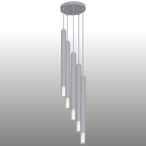 Šedá závěsná lampa Kuga 5 XL