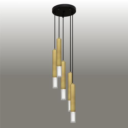 Závěsná lampa Kuga 5 M patina