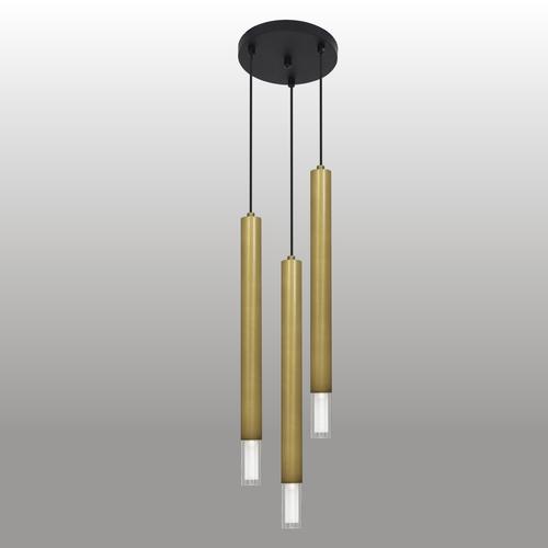 Závěsná lampa Kuga 3 XL patina