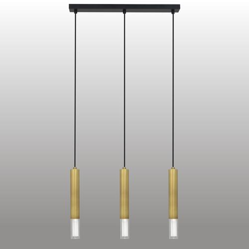Závěsná lampa Kuga 3 M patina