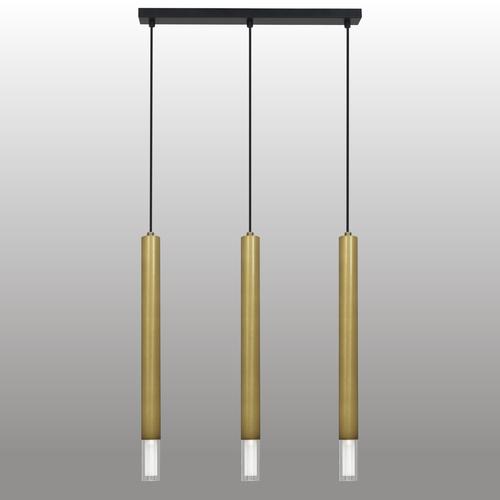 Závěsná lampa Kuga 3 Xl chromový pás