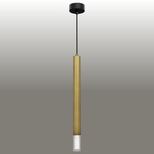 Závěsná lampa Kuga 1 XL patina
