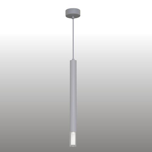 Šedá závěsná lampa Kuga 1 XL