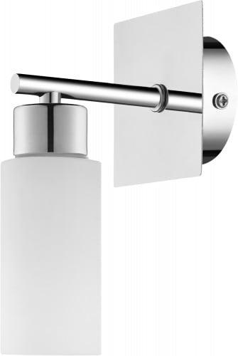 Moderní nástěnná lampa Aquatic chrom / bílá G9 40W