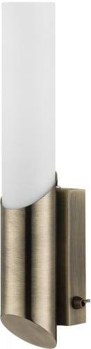 Patina nástěnná lampa Aquatic patina / bílá E14 40W