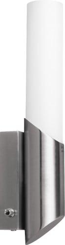 Satynowy kinkiet Aquatic satyna/ biały E14 40W