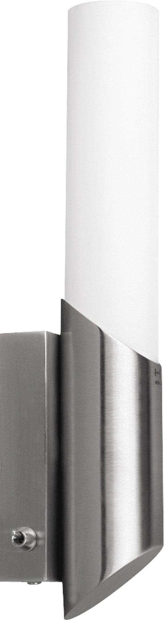 Saténová nástěnná lampa Aquatic satin / white E14 40W