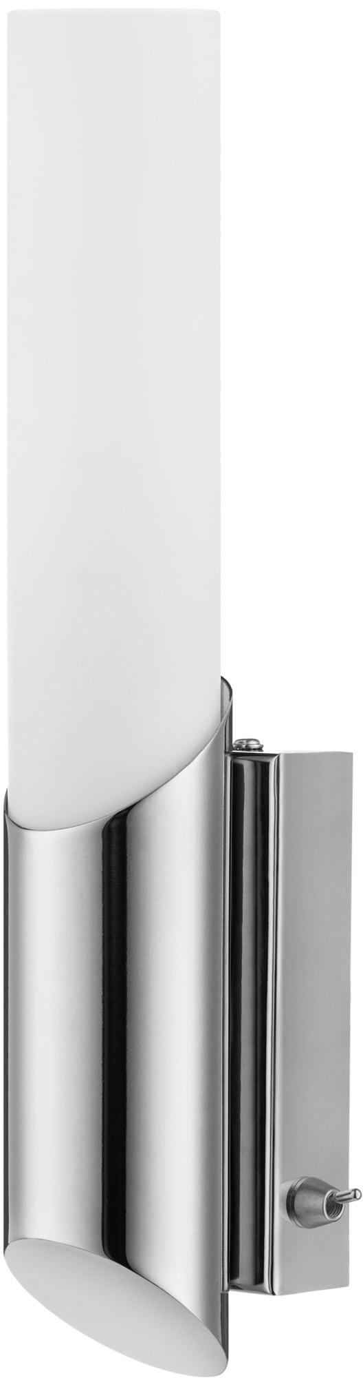 Nástěnná lampa chromovaná Aquatic chrom / bílá E14 40W