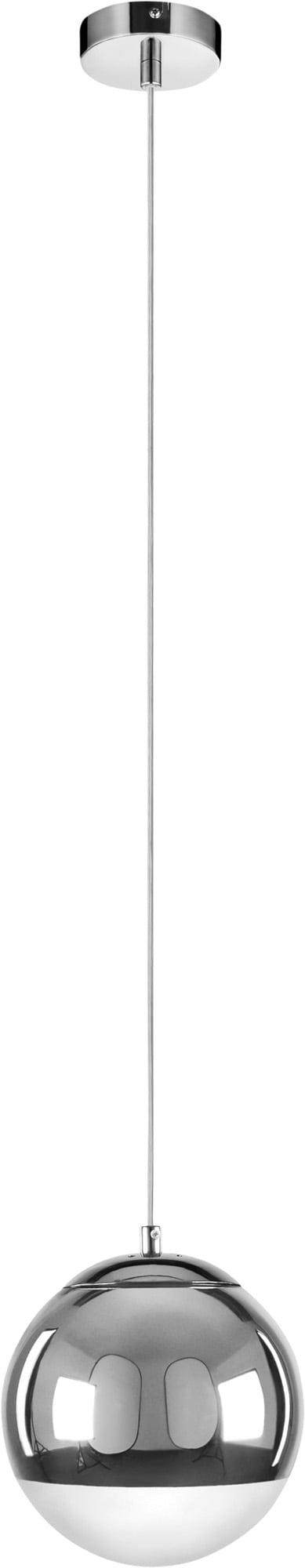 Jediná závěsná lampa Gino chrom E27 60W